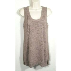 NEIMAN MARCUS Women Large Tank Top Sweater 2925E1